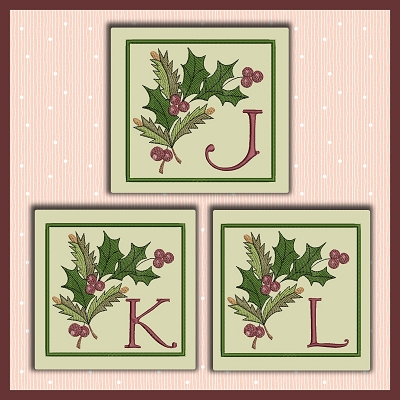 Holiday Berries Font JKL