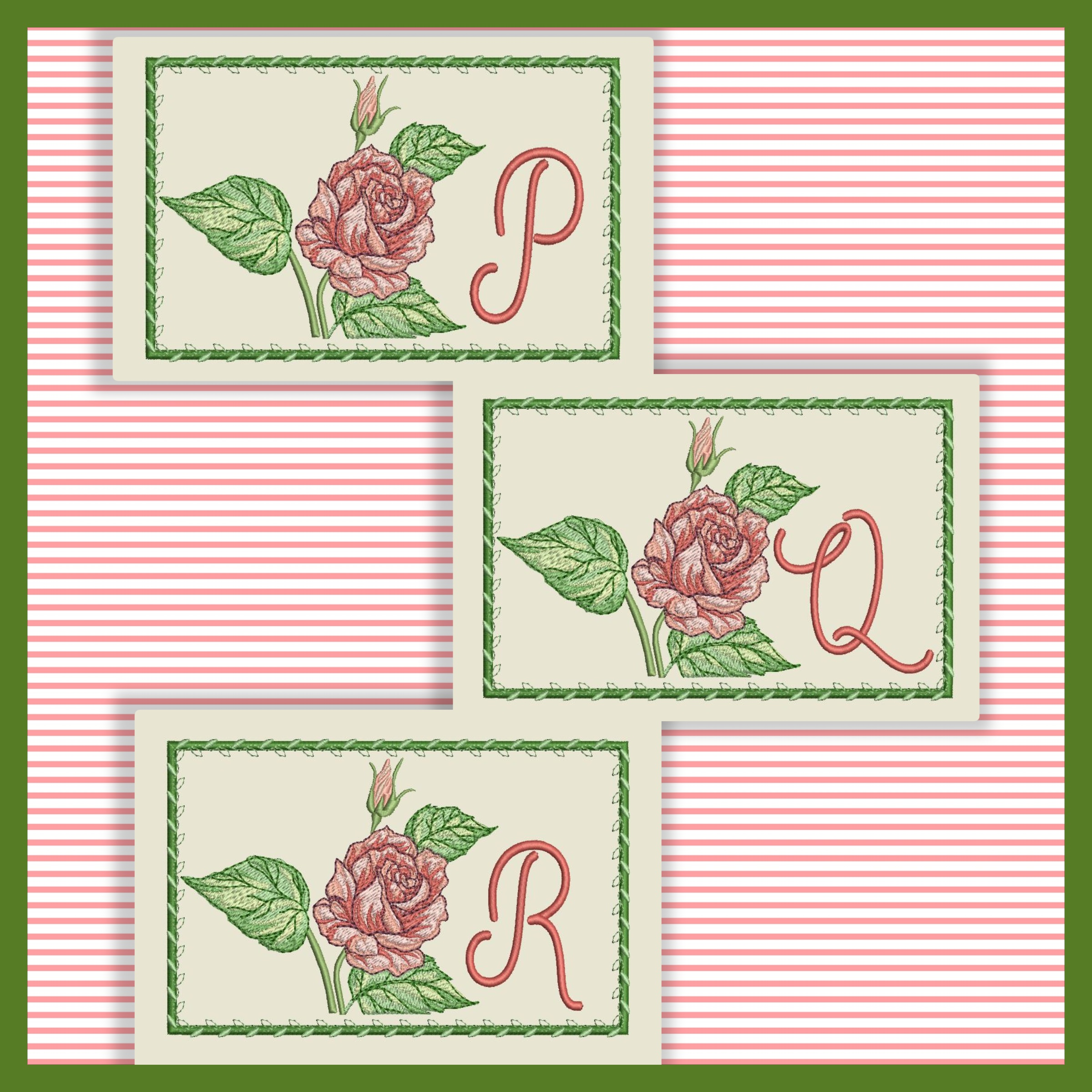 Just A Rose Font PQR