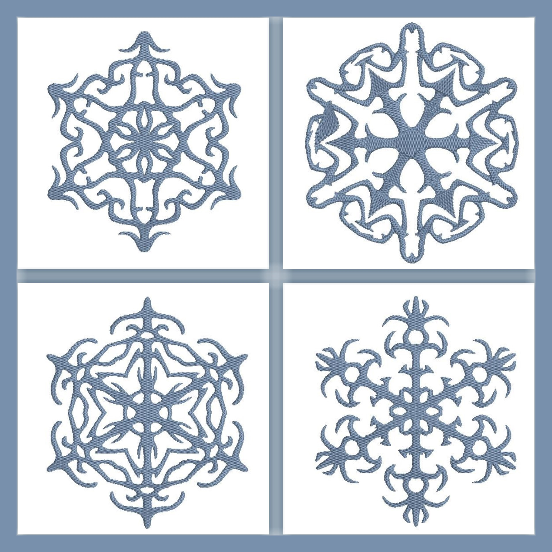 Snowflakes One color Set