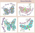 Flowered Butterflies