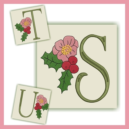 Holiday Flower Font STU