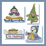 Snowmen On Holiday Regular & Mylar