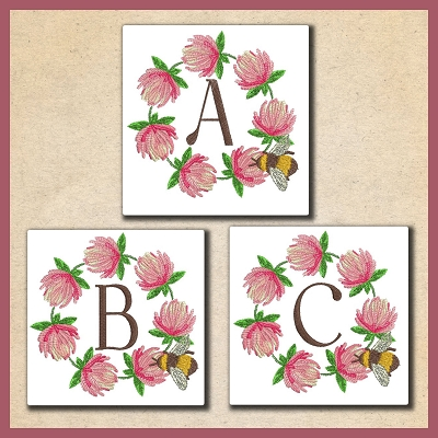 Clover Bee Font 2 ABC