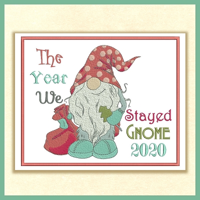 Happy New Year Gnomes Set
