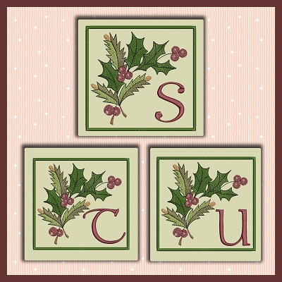 Holiday Berries Font STU