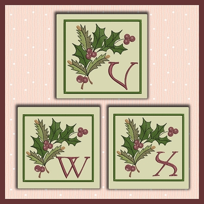Holiday Berries Font VWX