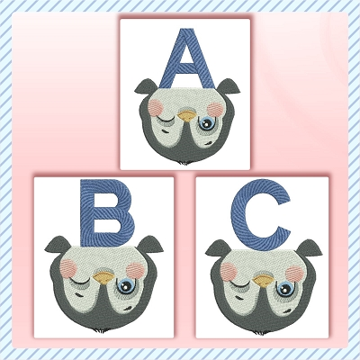 Upside Down Penguin ABC