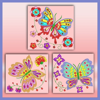 Bargain Butterflies Set