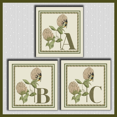 Clover Bee Font ABC