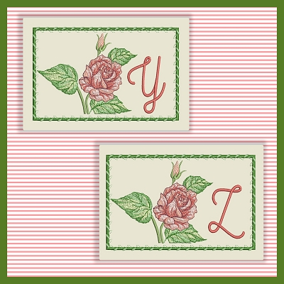 Just A Rose Font YZ