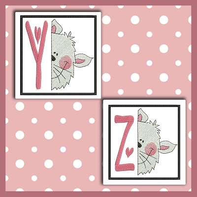 Peek Kitty Font YZ
