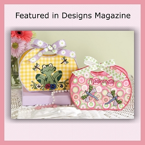Spring Frog Purse