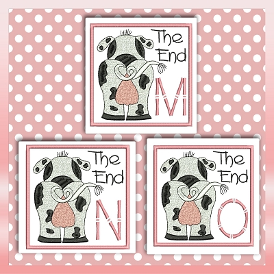The End Cow Font MNO