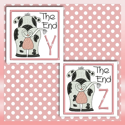 The End Cow Font YZ