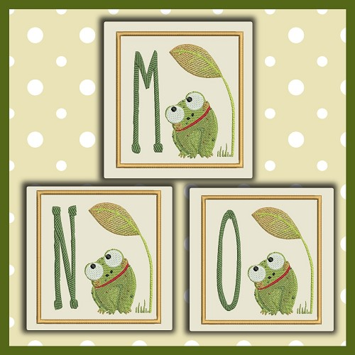 Baby Frog Font MNO