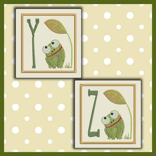 Baby Frog Font YZ