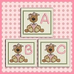 Bear With Bow ABC