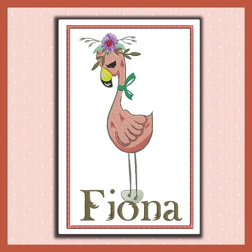 Fiona Flamingo Set