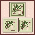 Holiday Berries Font DEF