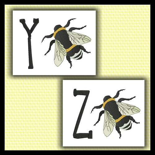 Honey bee Font YZ