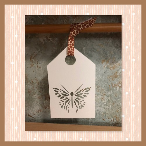 Butterfly Card & Tag Set