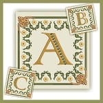 Golden Dream Monogram ABC
