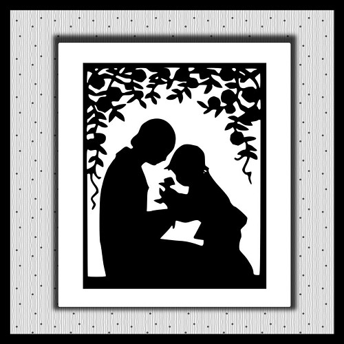 Mother And Child SVG NOT EMBROIDERY