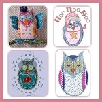 Adorable Owls In Applique
