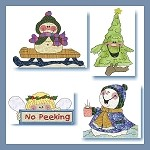 Snowman On Holiday Applique