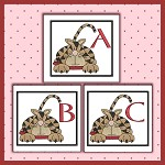 Striped Cat Font ABC
