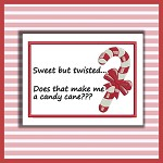 Sweet Twisted Candy Cane Set