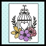 Bird Cage in Color Set