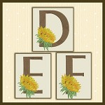 Just A Sunflower Font DEF