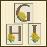 Just A Sunflower Font GHI