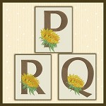 Just A Sunflower Font PQR