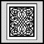 Lattice Trellis Background SVG NOT EMBROIDERY