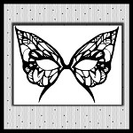 Butterfly Mask  Not Embroidery SVG Files