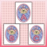 Bow Bear Font ABC