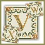 Golden Dream Monogram VWX