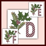 Holiday Cane Font DEF