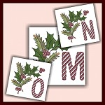 Holiday Cane Font MNO
