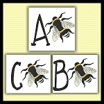 Honey Bee Font ABC