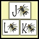 Honey Bee Font JKL