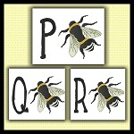 Honey Bee Font PQR