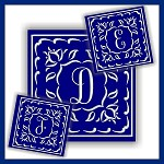 One Color Monogram DEF