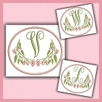 Pink Berry Monogram VWX