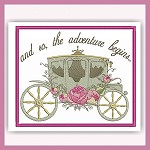Rose Carriage Set