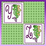 Seahorse Font YZ