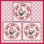 Shoe Rose Font ABC